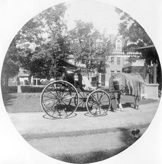 P-26-H-070 (neenahhistoricalsociety) Tags: clark shattuck horses buggies mansions