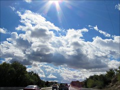 On the road to Santa Fe (Needleloca) Tags: 2016 newmexico santafe taos sky clouds ribbet newmexico2016