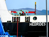 Scotland Greenock the ship repair dock an engineer working on the car ferry Hebrides 4 October 2016 by Anne MacKay (Anne MacKay images of interest & wonder) Tags: scotland greenock ship repair dock workman engineer caledonian macbrayne car ferry hebrides xs1 4 october 2016 picture by anne mackay
