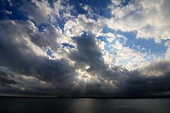 Coming to light (CardPhoto // www.card-photo.com) Tags: sea seascape 2016 italy sicily light sun clouds cloudscape