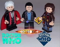 Favourite Doctors (Barratosh#2) Tags: lego doctor who sonic screwdriver third ninth fourth jelly babies fantastic polarity tardis dalek