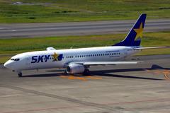 JA737N Boeing 737-8XH SKY  HND (Jetstar31) Tags: ja737n boeing 7378xh sky hnd