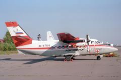 RA-67105 LET L-410UVP Turbolet Aeroflot (pslg05896) Tags: bka uubb bykovo moscow russia ra67105 let l410 turbolet aeroflot kostromaair