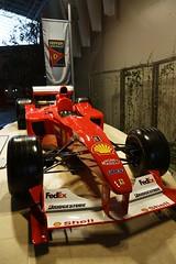Ferrari F1-2000 - Ferrari World (Abu Dhabi) (stecker.rene) Tags: ferrari f12000 michael schuhmacher formelone f1 grandprix car world ferrariworld museum f1car headon abudhabi vae uae united arab emirates champion 2000 season canon eos7d tamron 18270mm rennwagen sport racing bridgestone