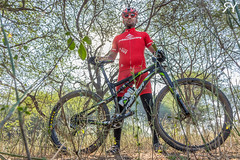Environmental Portrait of an athlete (ram.yadav0022) Tags: sports sportsphotography outdoor forest jungle portrait trees wild adventure exploration dynamic low cycling cyclist sky environment merida canon india tamron photographyforlife