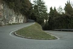 Monte Grappa (zahn-i) Tags: mt grappa monte road roadsliketheese tcrno5 ezzelino strase berg bergstrase switchback tornante kehre steil steep mountainroad