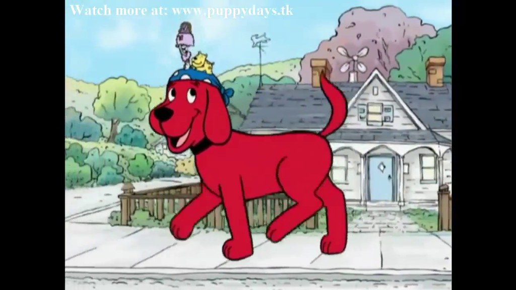 Clifford The Big Red Dog Babysitter Blues