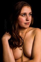 Alicea (austinspace) Tags: woman portrait spokane washington redhead glasses nude chair hardwood floor