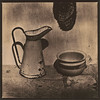 Jug and chamber pot (Antonio's darkroom) Tags: hasselblad kodak trix pyrocathd max klinke lith moersch 124 chamois se5 nh4cl chamber bed jug carbon mt2 stilllife