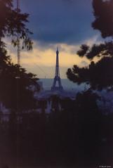 Eiffel tower (misterblue66) Tags: f401x nikon eiffel tower toureiffel eiffeltower paris