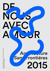Architecture Sans Frontires (inspiration_de) Tags: graphicdesign inspiration minimal poster typography