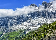 And now: A Swiss mountain side (frodeturer (check albums for themes / places)) Tags: alps alpine alpen schweiz switzerland frodeturer mountain clouds mountainside susten sustenpass pass