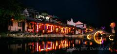 colorful night in watertown (b56n22) Tags: china asia chinese watertown suzhou jiangsu xikang