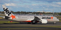 VH-VKL | Jetstar Airways | JQ3 | SYD - HNL | Boeing 787-8 Dreamliner | Sydney Kingsford Smith Airport | (SYD/YSSY) (bukk05) Tags: jetstarairways vhvkl jq3 syd hnl honolulu boeing7878dreamliner sydneykingsfordsmithairport sydyssy yssy sky sydney jetstar world explore export engine earth runway wing tamron tamron16300 taxi takeoff international photograph photo passenger plane aeroplane light jet jetliner holiday thrust turbofan ge generalelectricgenx1b rollsroycetrent1000 rollsroyce trent trent1000 genx1b spring 2016 australia air aircraft airport airliner airportgraphy airline flickr flight fly flying zoom canon60d canon boeing boeingcommercialairplanes 787 nsw newsouthwales mascot