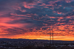 Sunrise (inlightful) Tags: sunrise sunset morning evening sky weather clouds outdoors nature rural southwest socorrocounty newmexico