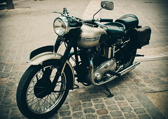 Bird of Thunder (Dr.Frobenius) Tags: nikon triumph thunderbird motorbikes narbonne d40x inevavae