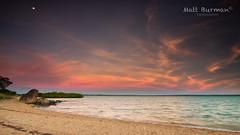 LAVA LIGHT (matt burman) Tags: ocean sunset sea lake seascape sunrise landscape dawn bay pentax dusk nt wideangle northernterritory gove nhulunbuy melvillebay eastarnhemland
