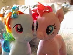 Pinkie Pie and Rainbow Dash (Princess Ema Irene) Tags: little pony my