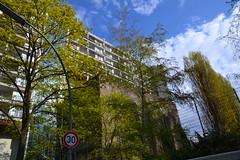 Pallasseum, Sozialpalast, Pallas Bunker, Berlin, Schneberg. (Jeanne Menj) Tags: building berlin schneberg bunker immeuble bton sozialpalast pallasseum pallasbunker