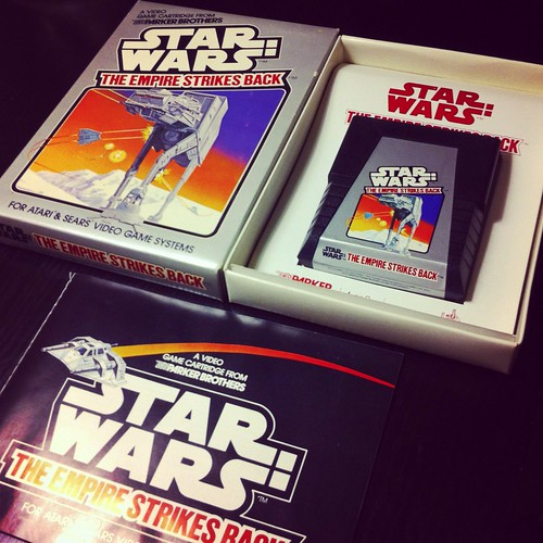 Star Wars: The Empire Strikes Back for the Atari 2600.