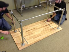 Sitting/Standing Desk - Adjustable Height