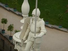 on top (André-DD) Tags: park castle statue germany deutschland saxony sachsen schloss badmuskau fürstpücklerpark neueschloss