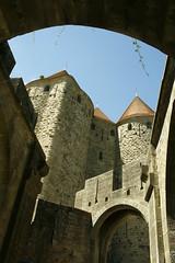 Torri a punta (@ntop@r) Tags: travel france castle tourism medieval viajes chateau turismo francia castello viaggi monumenti medievale carcassonne castillo medioevo castell fortezza etadmedia