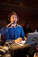 Daito Manabe (JP) (Ars Electronica) Tags: austria arselectronicafestival totalrecall upperaustria 2013 daitomanabe satoruhiga arselectronicamusicday totalrecalltheevolutionofmemory arselectronicafestival2013 yourcosmos listenandplay
