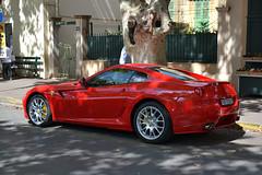 Ferrari 599GTB Fiorano (Reventon09) Tags: summer france nikon fake ferrari sainttropez expensivecars carspotting fiorano redferrari novitec 2013 599gtb 18105mm exclusivecars novitecrosso d3100
