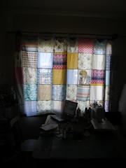 Porque a privacidade pode ser colorida! (Sissi Terra) Tags: cortina patchwork atelier colorido