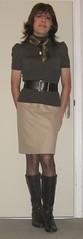 Dress up at home (Tinne_cd) Tags: drag crossdressing crossdresser travestie travestiet