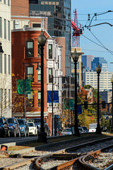 IMG_2824 (kz1000ps) Tags: autumn color green fall leaves boston skyline architecture train subway real construction downtown apartments estate massachusetts huntington tracks rail potd line institute foliage wentworth e mbta fenway avenue trolly 525 development longwood