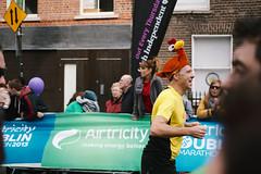 Chicken Dance ( imightbewrong) Tags: ireland people dublin hat race marathon running chick runner 2013 dublindublin