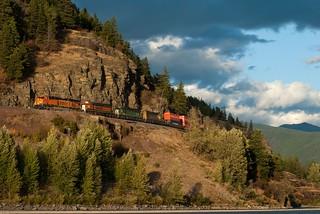 BNSF 7525, Columbia Falls MT