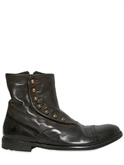 OFFICINE CREATIVE  20MM DYED WASHED LEATHER BOOTS (zavertiose) Tags: winter men fall leather shoes boots creative 20mm washed dyed officine 2013 officinecreative20mmdyedwashedleatherbootsfallwinter2013menshoesboots