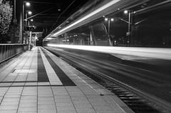 Bahnhof Abfahrt / Railway station departure