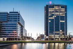 Ernst-Reuther-Platz, TU Berlin I (FDÜ74) Tags: berlin architecture telekom architektur tuberlin telefunkenhochhaus bismarckstrase erstreutherplatz
