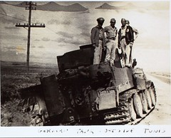 Erickson_AL16 Photo_000153 (San Diego Air & Space Museum Archives) Tags: worldwartwo italy b24 tunisia tigertank tank tigeri armoredwarfare armouredwarfare panzerkampfwagenvi panzervi wwii ww2