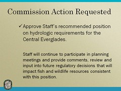 Slide 21 Everglades (MyFWCmedia) Tags: florida wildlife conservation everglades commission weston fwc westonflorida commissionmeeting floridafishandwildlife myfwc myfwccom myfwcmedia