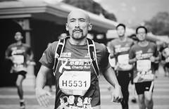 Everyone Is A Winner (dorahon) Tags: hk monochrome hongkong blackwhite disneyland marathon strength tough dorahon dotography