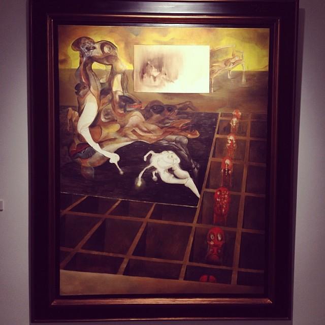 """""""La fenétre"""" • """"El Pasado Presente"""" de Gerardo Chávez #art #arte #arteenlima #artinlima #artista #artist"""