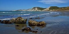 Marfells Beach & Clifford Bay, Marlborough (flyingkiwigirl) Tags: camp lighthouse beach cape mussel doc campbell cliffordbay marfells