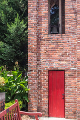 Church Bell (jwcjr) Tags: reddoor churchbell barnesvillega barnesvillegeorgia smalltownga barnesvillechurch
