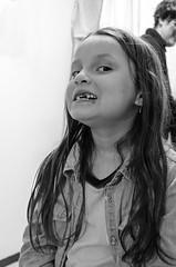 Sara (jacarzo) Tags: portrait bw blancoynegro girl face sara gente retrato cara nia rostro