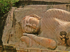 Reclining Buddha Statue - Thanthirimale (Janesha B) Tags: heritage culture buddhism civilization srilanka stupas dagobas anuradapura