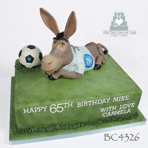 Fine Bc4326 Shrek Donkey 65Th Birthday Cake Toronto A Photo On Flickriver Funny Birthday Cards Online Benoljebrpdamsfinfo