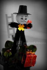 the little clover good-luck guy (photos4dreams) Tags: photos charm gift luck lucky clover neujahr newyearsday klee schornsteinfeger glcksklee 2014 photos4dreams photos4dreamz p4d