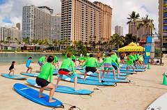 Lessons & Carols (jcc55883) Tags: hawaii nikon waikiki oahu surfers hiltonhawaiianvillage ilikai rainbowtower yabbadabbadoo d40 hiltonlagoon surfinglessons nikond40 dukekahanamokubeach alamoanaarea modernhonolulu
