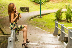 IMG_0173 (Irwin Day) Tags: beauty canon indonesia model 85mm jakarta taman cantik langsat