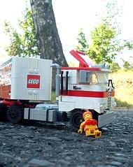 Peterbilt 362 (pitrek02) Tags: old truck lego american peterbilt